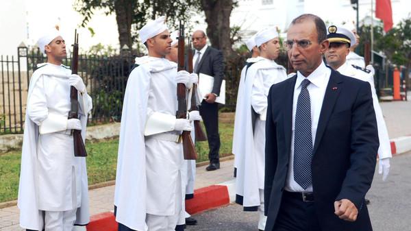 وزير الداخلية المغربي