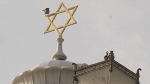An attack on a synagogue in