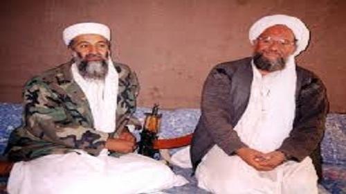 أسامة بن لادن وأيمن